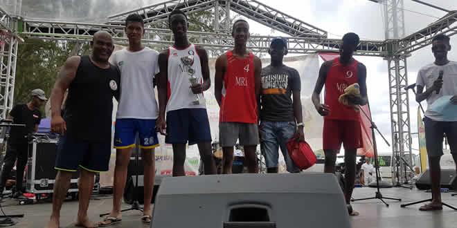 Les handballeurs de l'équipe Olympic ont réalisé une superbe prestation dimanche.