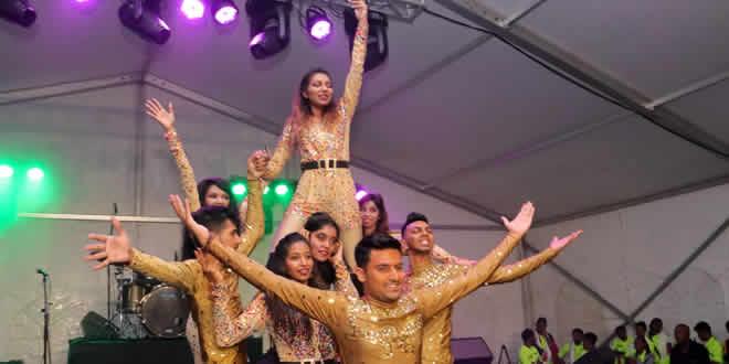 Le Nalini Dance Group a assuré le show, lors de cette cinquième mobilisation.