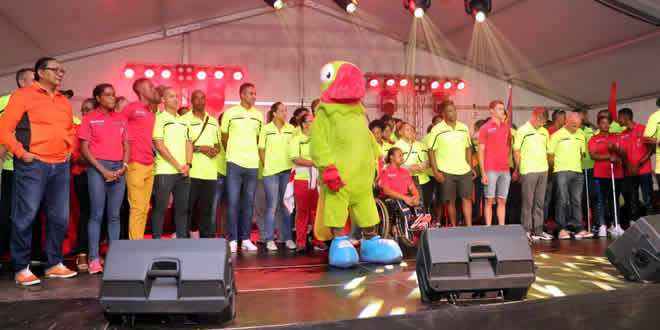 24 sélectionnés mauriciens étaient présents à Curepipe.