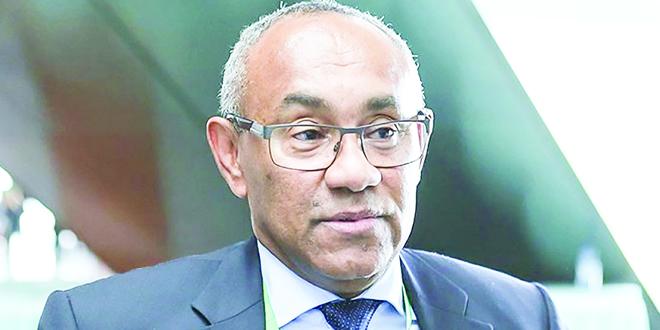 Ahmad Ahmad, Malgache et président de la Confédération africaine de football